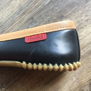 chooka Shoes - Chooka Duck Skimmer Flats - Black Rain Ballet Flat